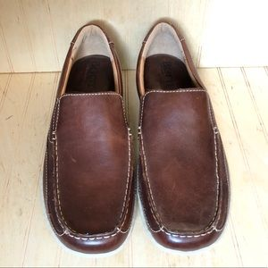 BORN Leather Slip On Loafers Men's 11